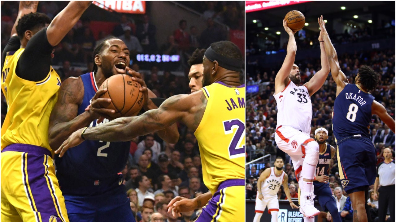 Kawhi Leonard tumba a los Lakers de LeBron James y Anthony Davis en la noche del anillo para Marc Gasol