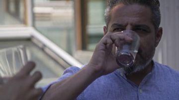 """Jalis de la Serna """"se bebe"""" el aire de Melbourne, uno de los sistemas con el que se ahorra un 80% de agua corriente"""