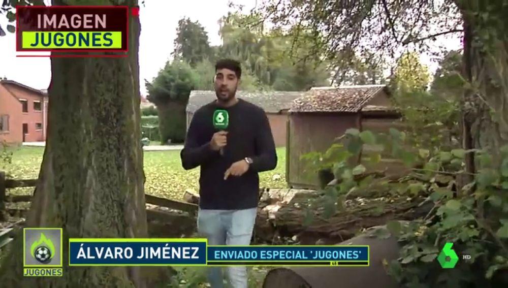 'Jugones' visita la casa de Hazard en su pueblo natal y entrevista a su hermano