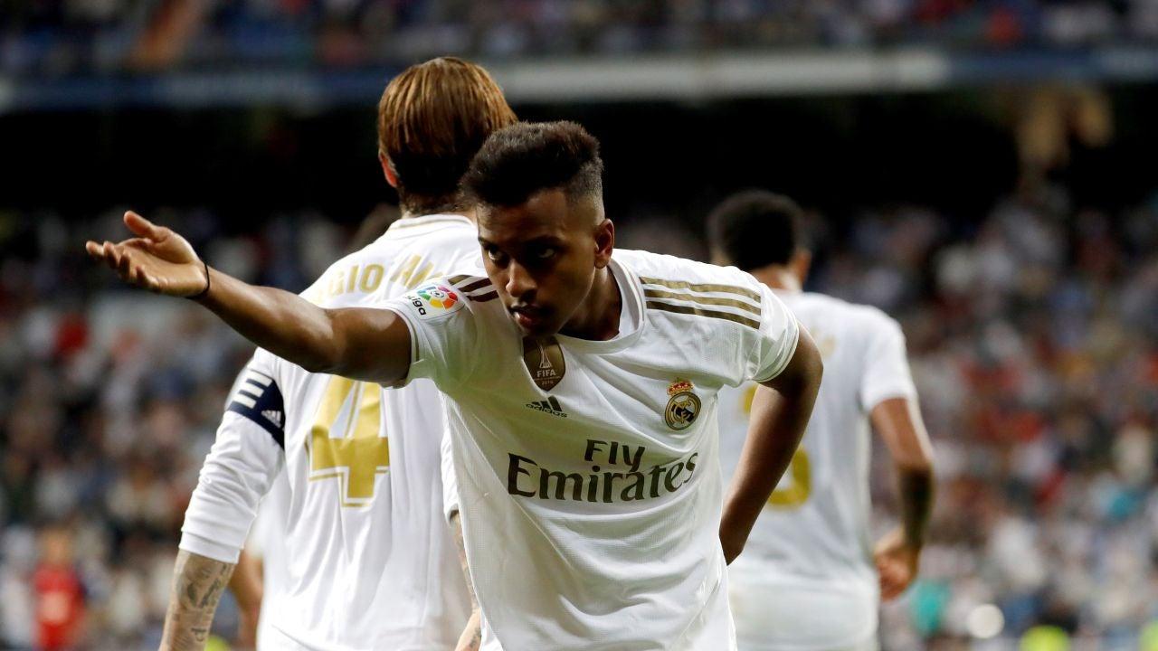 El atacante del Real Madrid, Rodrygo Goes.