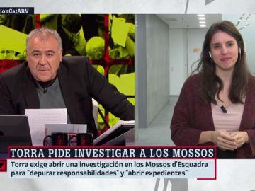 Irene Montero, portavoz de Unidas Podemos en el Congreso