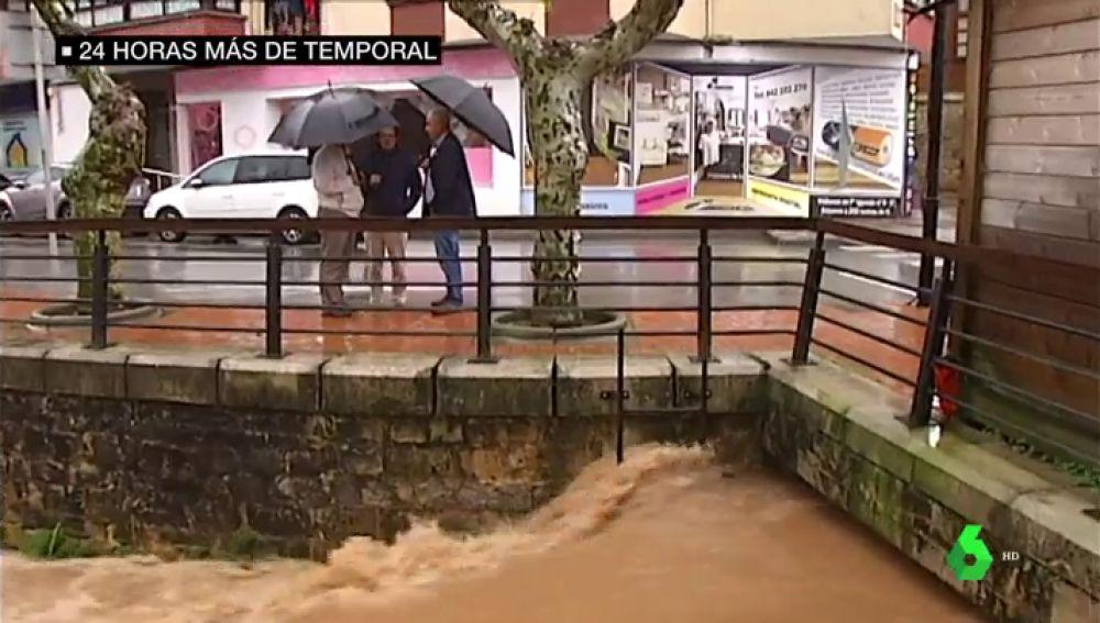 Carreteras cortadas, alcantarillas desbordadas y problemas ferroviarios: los efectos del temporal en el norte peninsular