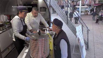 Alberto Chicote, en El Submarino
