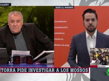 El secretario de Comunicación de Ciudadanos, Fernando de Páramo
