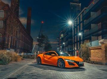 Honda NSX Thermal Orange