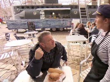 """Chicote no se anda con rodeos al calificar la comida de El submarino: """"¿Los montaditos? Una mierda"""""""