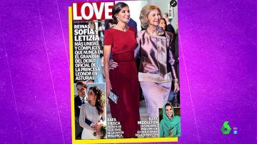 """El análisis de Zapeando sobre la foto de Letizia y Sofía, """"las reinas Happy flower"""""""