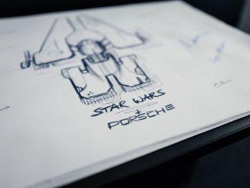 Teaser nave Porsche de Star Wars