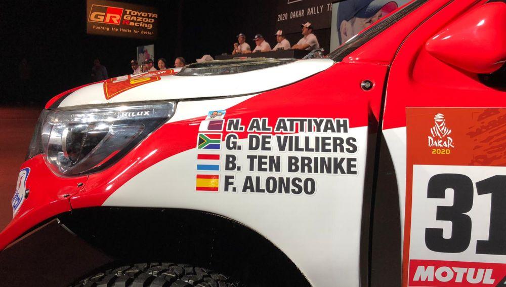 El Coche Con El Que Fernando Alonso Participara En El Rally Dakar 2020
