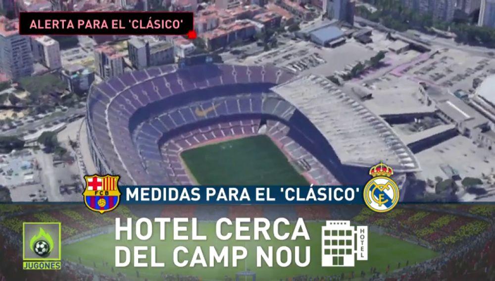 Así es el plan de seguridad que se prepara para el Clásico del 18 de diciembre en Barcelona