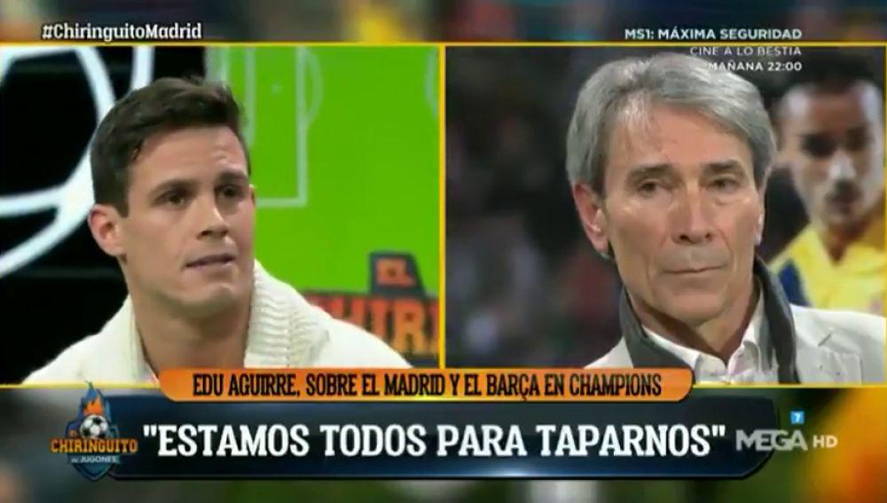 """""""El Barça está haciendo el ridículo en Europa"""": el contundente alegato de Edu Aguirre en 'El Chiringuito'"""