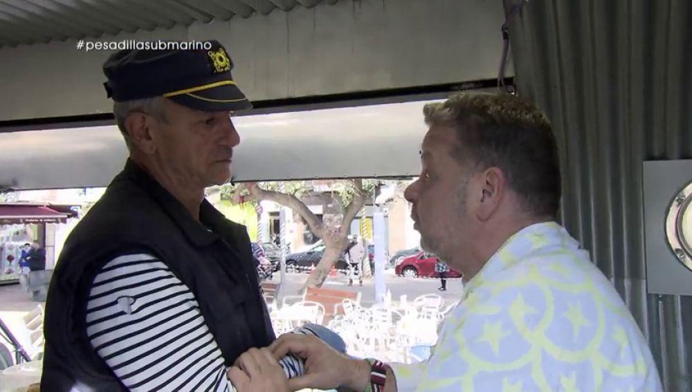 El reto de Alberto Chicote en 'El submarino', un 'food truck' a la deriva