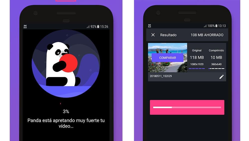 Compresor de vídeo Panda