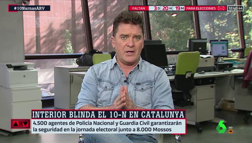 Así será el dispositivo policial en Cataluña para las elecciones del 10N