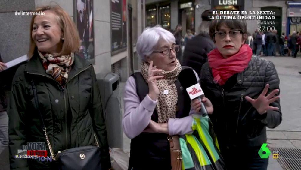 """""""Voy a votar al PSOE, pero voté al PP, a Rajoy"""": 'lo vota, no lo vota' destapa los """"cambios de chaqueta"""" antes del 10N"""
