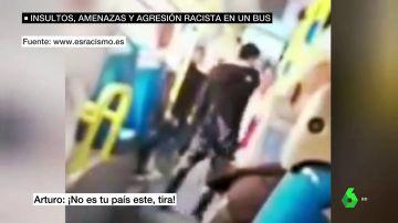 Ataque racista en el transporte público de Madrid