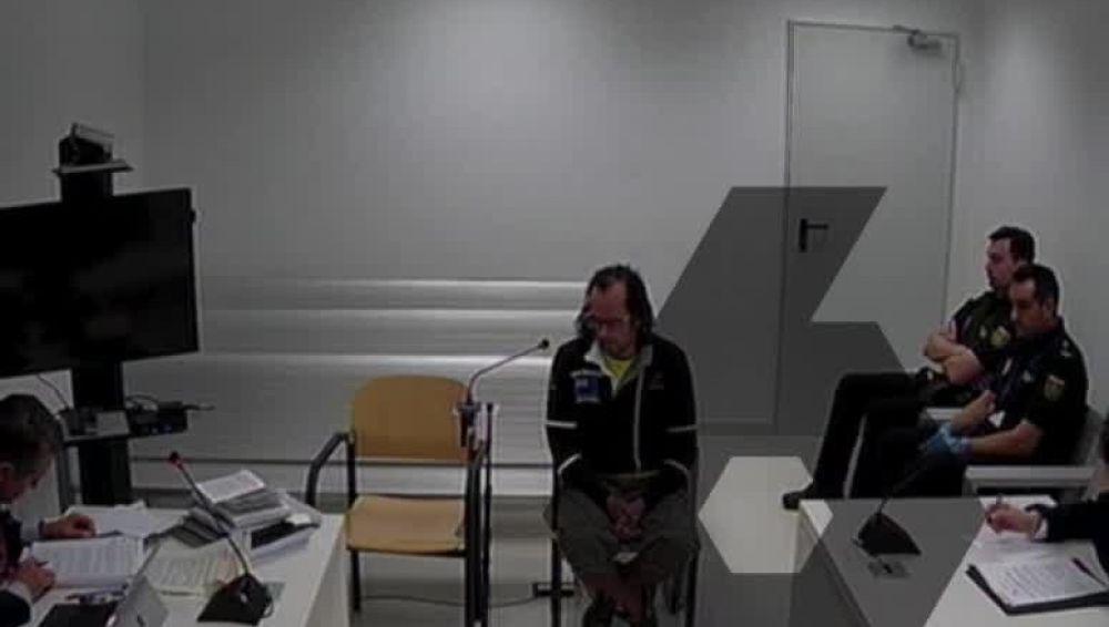 Uno de los CDR detenidos, Jordi Ros, durante su declaración