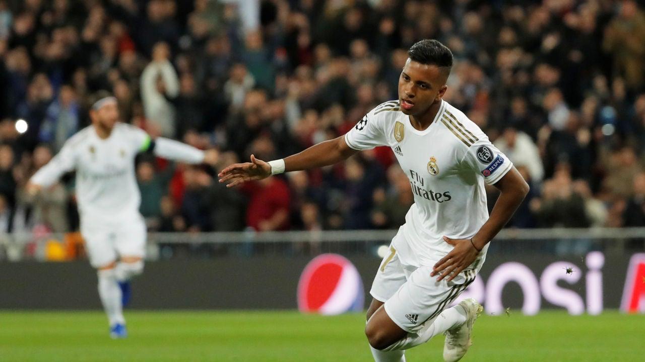 Rodrygo levanta al Bernabéu con su segundo gol al Galatasaray en tres minutos
