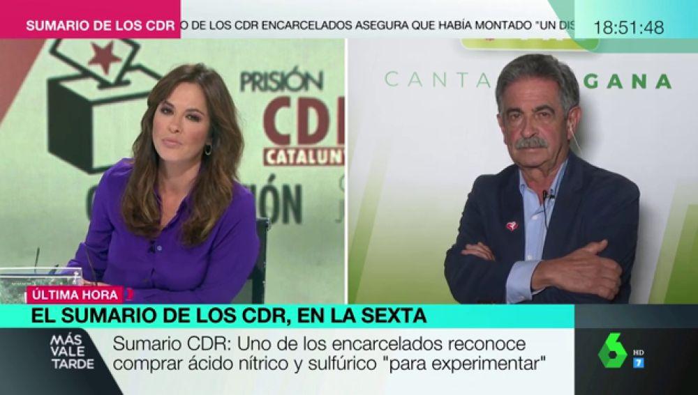 """Revilla, sobre la 'Operación Judas': """"Tenemos profesionales que velan por la seguridad y también un presidente pirómano en Cataluña"""""""