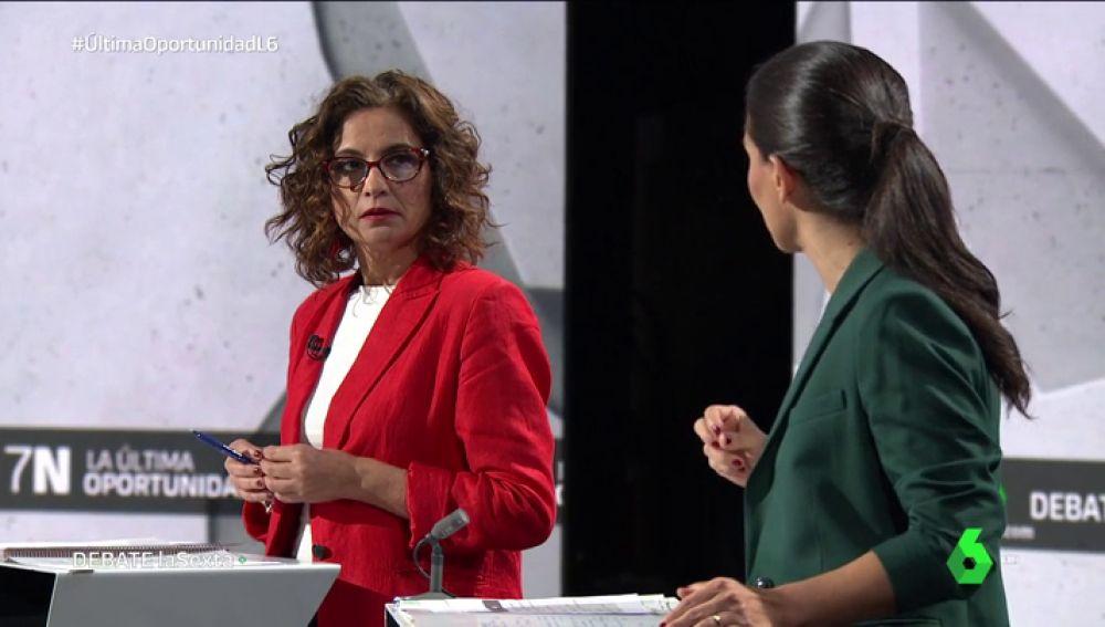 María Jesús Montero y Rocío Monasterio