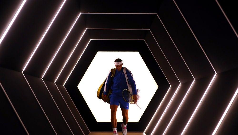 Rafa Nadal, en el último Masters 1000 de París