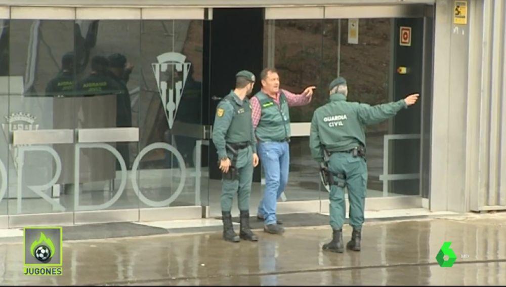 Detienen al presidente del Córdoba