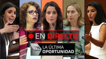 Debate electoral de laSexta: Mª Jesús Montero, Ana Pastor, Irene Montero, Arrimadas y Monasterio, EN DIRECTO