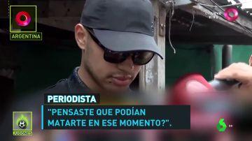 """Un futbolista, a punto de quedarse ciego tras recibir un disparo: """"Tengo miedo de no volver a ver a mi hijo"""""""