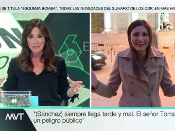 """""""¿Pero no era Rivera el rey del bloqueo? : Mamen Mendizabal pone entre las cuerdas a Lorena Roldán (Cs)"""