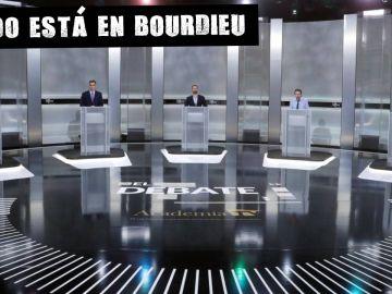 Un momento del debate electoral