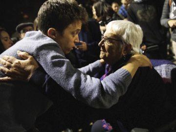 La militante de Más País, emocionada e ilusionada con Íñigo Errejón