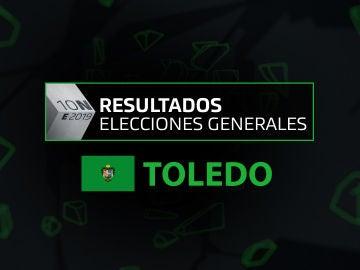 Resultados elecciones generales 10N en la provincia de Toledo