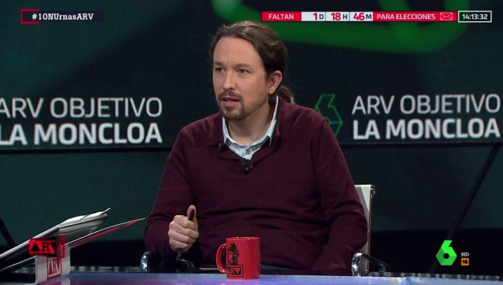 Pablo Iglesias se pronuncia sobre el futuro liderazgo de Irene Montero en Unidas Podemos