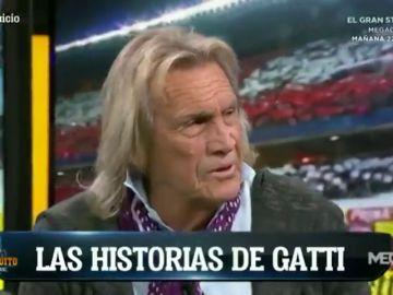 """El Loco Gatti desvela en 'El Chiringuito' su último deseo: """"Me gustaría jugar un minuto en el Real Madrid y después morirme"""""""