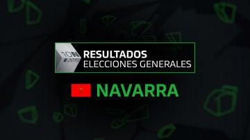 Resultados elecciones generales 10N en la comunidad de Navarra