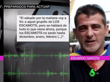 Conversación entre dos detenidos en la que hablan de los 'Escamots'