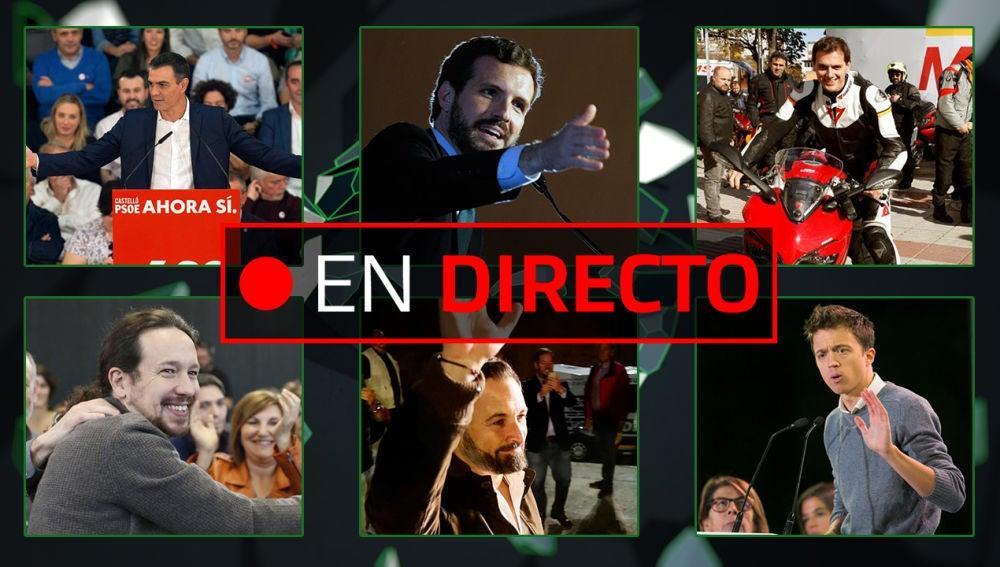 Elecciones: PSOE, Vox, Podemos, PP, Ciudadanos y Más País, última hora EN DIRECTO