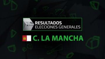 Resultados elecciones generales 10N en la comunidad de Castilla La Mancha