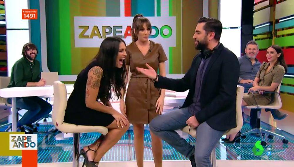Lorena Castell confiesa la anécdota más bochornosa de Dani Mateo: