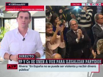 Albert Rivera, en Al Rojo Vivo