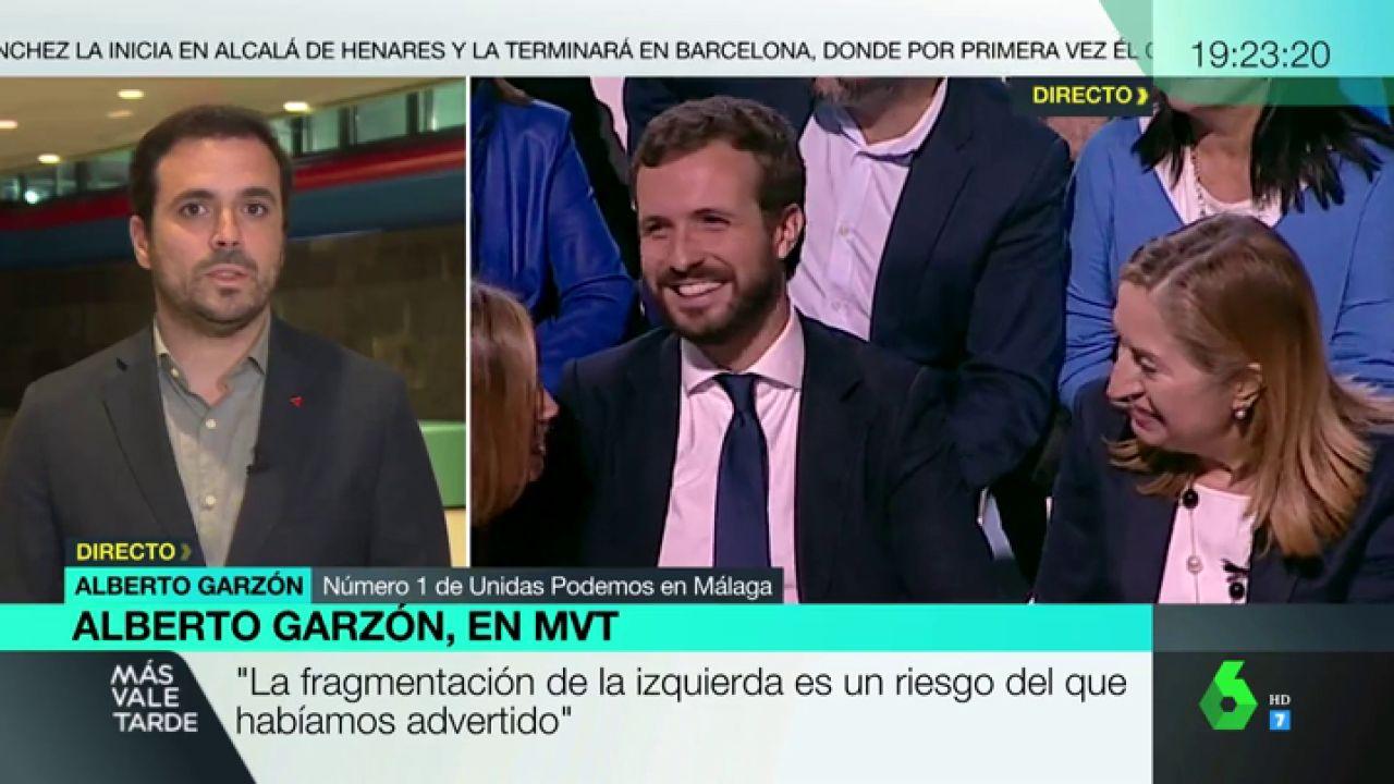 """Alberto Garzón: """"PP y Ciudadanos han competido por ver quién se 'derechizaba' más"""" - LaSexta"""