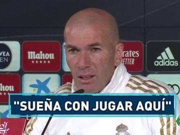 Zidane responde al PSG por Mbappé