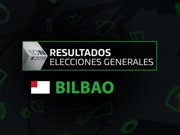 Resultados elecciones generales 10N en el municipio de Bilbao