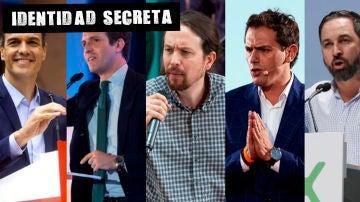 Los cinco candidatos de los principales particos