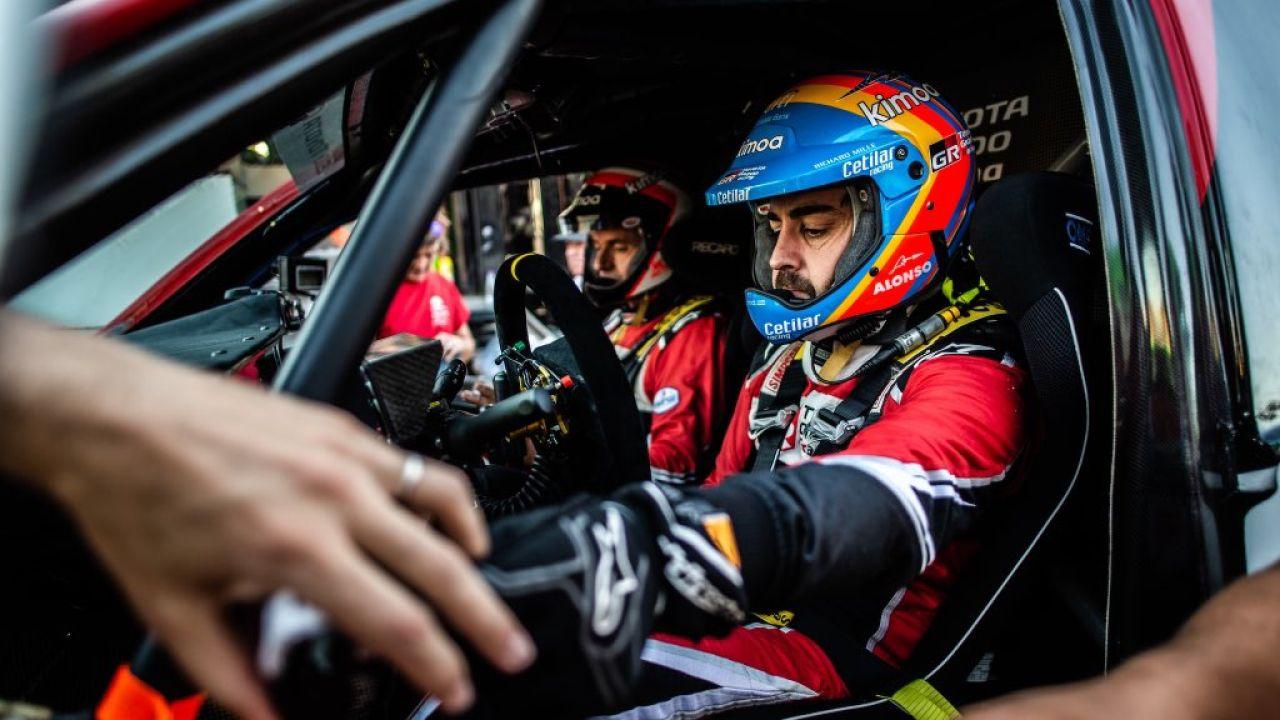 Fernando Alonso, en el Ula-Neom