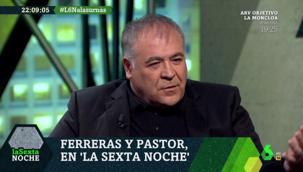 """Antonio García Ferreras: """"Yo sigo creyendo en la política y en nuestros políticos, incluso cuando nos decepcionan"""""""