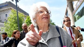 Liliana Segre, superviviente del Holocausto