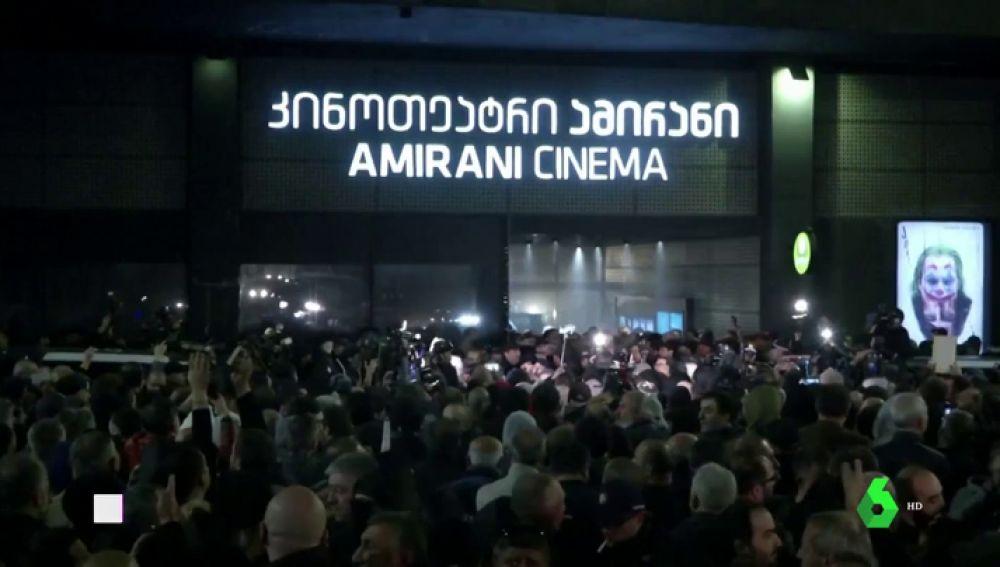 Protesta en Georgia contra una película homosexual