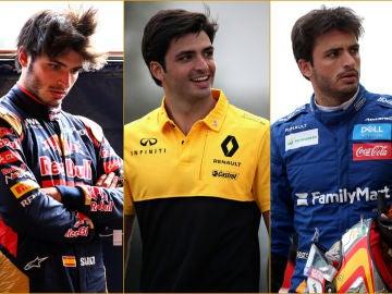 Carlos Sainz, en Toro Rosso, Renault y McLaren