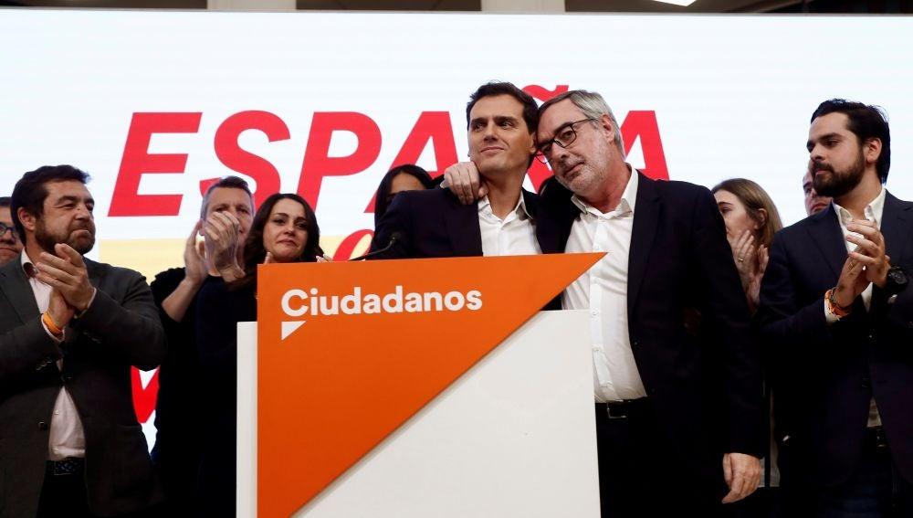 Rivera junto a Villegas el 10N
